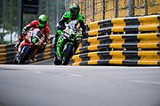Horst SAIGER, Saiger-Racing, Kawasaki<br /> 64th Macau Grand Prix. 15-19.11.2017.<br /> Suncity Group Macau Motorcycle Grand Prix - 51st Edition<br /> Macau Copyright Free Image for editorial use only