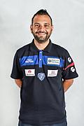Andrea Giordo, Fisioterapista<br /> Testine Busti Polo<br /> Banco di Sardegna Dinamo Sassari<br /> Olbia, 03/09/2017<br /> Foto L.Canu / Ciamillo-Castoria