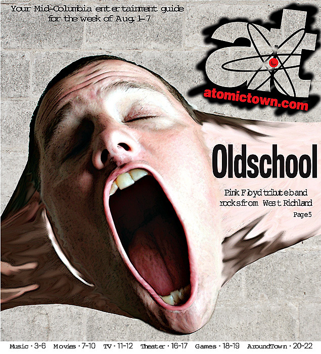 Entertainment guide cover..Design by Shannon Hofstad.