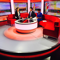 """Rita Ora releases a photo on Instagram with the following caption: """"Cracking jokes on the news this morning \ud83d\ude0aAlso talking about YOUR SONG!! Out now!!! Thank you for having me @bbcnews \u2764\ufe0f\ud83d\ude4f\ud83c\udffc\ud83d\udc81\ud83c\udffc"""". Photo Credit: Instagram *** No USA Distribution *** For Editorial Use Only *** Not to be Published in Books or Photo Books ***  Please note: Fees charged by the agency are for the agency's services only, and do not, nor are they intended to, convey to the user any ownership of Copyright or License in the material. The agency does not claim any ownership including but not limited to Copyright or License in the attached material. By publishing this material you expressly agree to indemnify and to hold the agency and its directors, shareholders and employees harmless from any loss, claims, damages, demands, expenses (including legal fees), or any causes of action or allegation against the agency arising out of or connected in any way with publication of the material."""