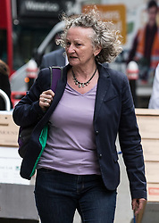 © Licensed to London News Pictures. 23/07/2015. London, UK. Baroness Jenny Jones of the Green Party arriving at the Rolls Building of the Royal Courts of Justice to present claims to the Investigatory Powers Tribunal that the 'Wilson Doctrine' which enables MPs to communicate privately with constituents and members of the public has been undermined by modern mass surveillance practices by MI5, MI6 and GCHQ. Photo credit : James Gourley/LNP