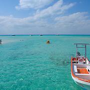 Kayaking at North beach, Isla Mujeres, Quintana Roo. MX.