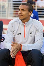 SANTA CLARA, USA - Saturday, July 30, 2016: Liverpool's Joel Matip before the International Champions Cup 2016 game against AC Milan on day ten of the club's USA Pre-season Tour at the Levi's Stadium. (Pic by David Rawcliffe/Propaganda)