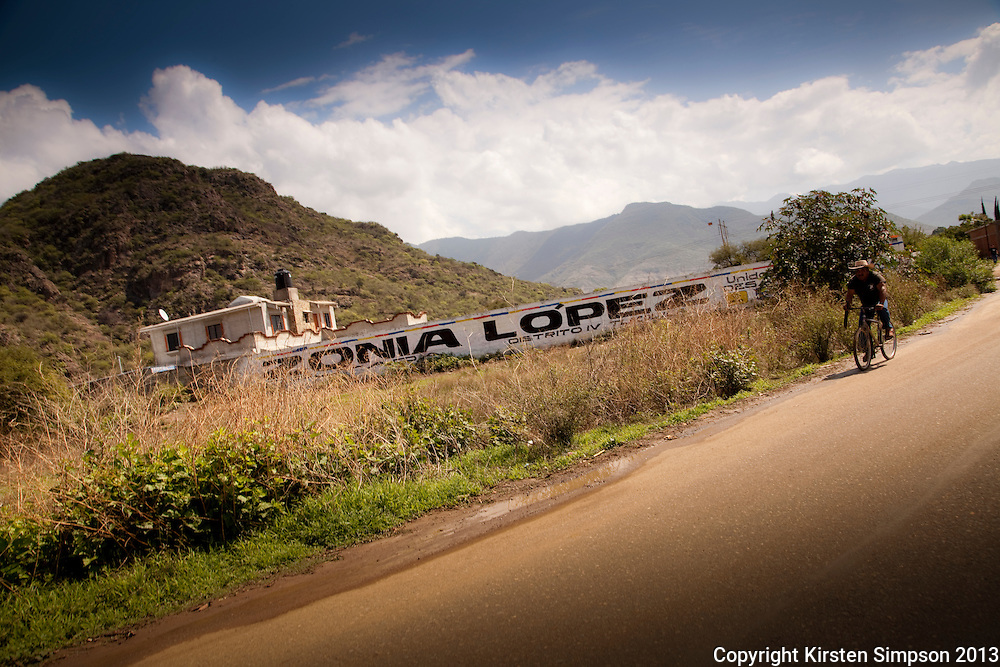 Cycling in the Oaxaca Valley