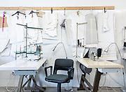 Italy, Capannori, Daccapo tailoring workshop.
