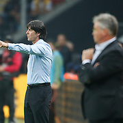 Germany's coach Joachim LOW during their UEFA EURO 2012 Qualifying round Group A matchday 19 soccer match Turkey betwen Germany at TT Arena in Istanbul October 7, 2011. Photo by TURKPIX