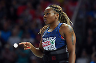 Alexie Alais (FRA) competes in Javelin Throw Women during the European Championships 2018, at Olympic Stadium in Berlin, Germany, Day 4, on August 10, 2018 - Photo Photo Julien Crosnier / KMSP / ProSportsImages / DPPI