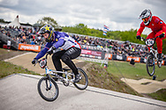 #100 (MAHIEU Romain) FRA at Round 4 of the 2019 UCI BMX Supercross World Cup in Papendal, The Netherlands