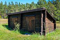 Sweden, Gotska Sandön national park. The Prison.