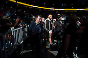 LAS VEGAS, NV - JULY 9:  Travis Browne walks to the Octagon during UFC 200 at T-Mobile Arena on July 9, 2016 in Las Vegas, Nevada. (Photo by Cooper Neill/Zuffa LLC/Zuffa LLC via Getty Images) *** Local Caption *** Travis Browne
