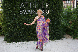 Catherine Baba attends the Atelier Swarovski - Cocktail Of The New Penelope Cruz Fine Jewelry Collection during Paris Haute Couture Fall Winter 2018/2019 in Paris, France on July 02, 2018. Photo by Nasser Berzane/ABACAPRESS.COM