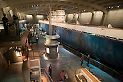 German Submarine U-505 housed as a hands-on exhibit at the Chicago Museum of Science and Industry. Chicago, Il. USA.
