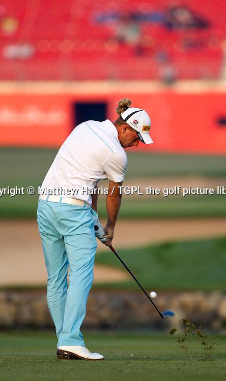 Marcel SIEM (GER) during first round HSBC Abu Dhabi Championship 2014,Abu Dhabi Golf Club,Abu Dhabi,UAE.