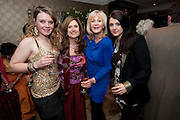 LUCINDA WATSON; VICTORIA WATSON; LIZ BREWER; POSY BREWER, Liz Brewer GIVES A PARTY TO WELCOME 2010, Champagne <br /> Flemings Mayfair, 13 Half Moon Street, London. 5 January 2010