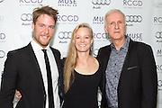 Jake McDorman, Suzy Amis Cameron, and James Cameron