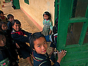 Vietnam, Sapa: children of.... minorities during the break at school.