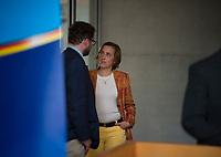 DEU, Deutschland, Germany, Berlin, 26.09.2017: Berengar Elsner von Gronow (MdB, AfD) und Beatrix von Storch (MdB, AfD) vor der ersten Fraktionssitzung der AfD-Bundestagsfraktion im Deutschen Bundestag.