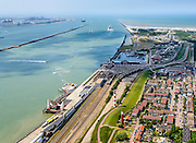 Nederland, Zuid-Holland, Hoek van Holland, 10-06-2015;<br /> <br /> QQQ<br /> luchtfoto (toeslag op standard tarieven);<br /> aerial photo (additional fee required);<br /> copyright foto/photo Siebe Swart