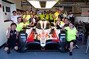 June 10-16, 2019: 24 hours of Le Mans. 8 TOYOTA GAZOO RACING, TOYOTA TS050 - HYBRID, Sébastien BUEMI, Kazuki NAKAJIMA, Fernando ALONSO Toyota Gazoo Racing mechanics