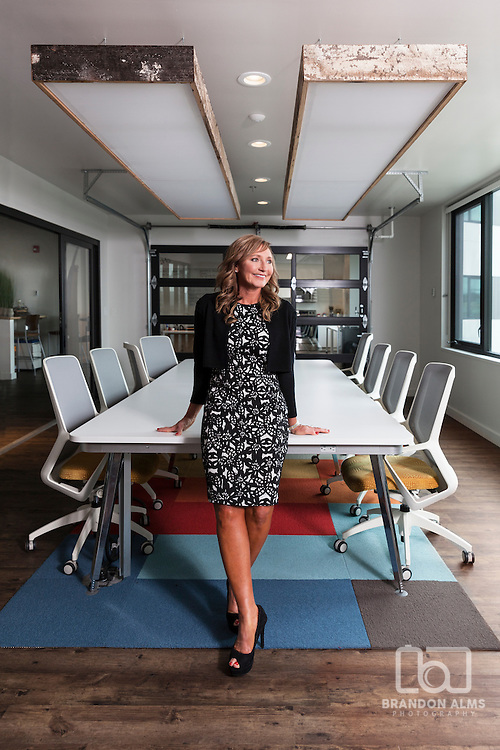 Business Woman in an office setting.