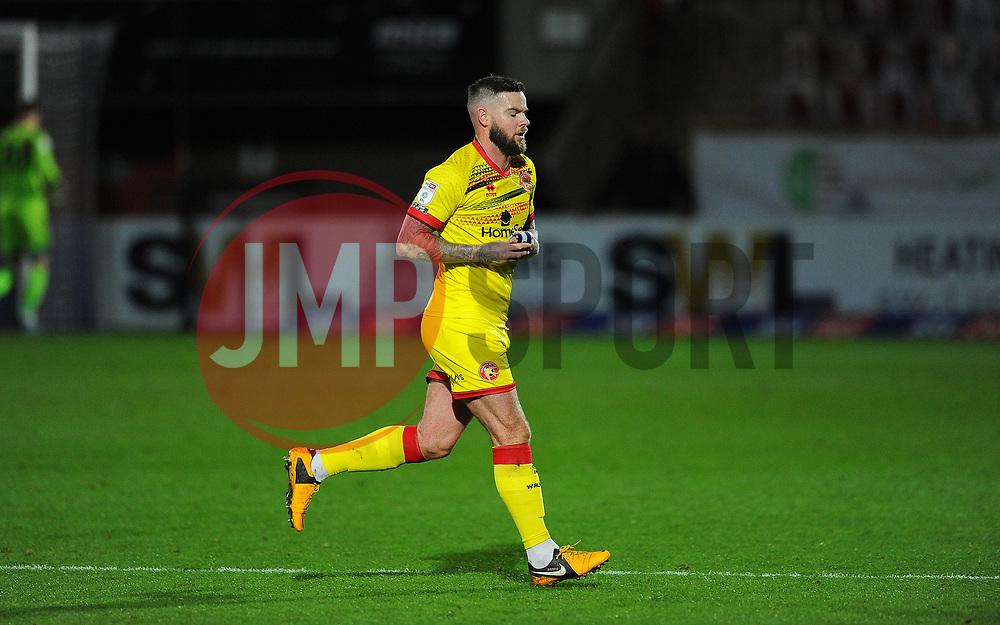 Danny Guthrie of Walsall is subbed off - Mandatory by-line: Nizaam Jones/JMP - 21/11/2020 - FOOTBALL - Jonny-Rocks Stadium - Cheltenham, England - Cheltenham Town v Walsall - Sky Bet League Two