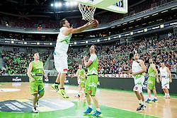Marko Milic during basketball match between Slovenian football and basketball Legends at All-Stars Stozice 2014, on December 28, 2014 in Arena Stozice, Ljubljana, Slovenia. Photo by Vid Ponikvar / Sportida