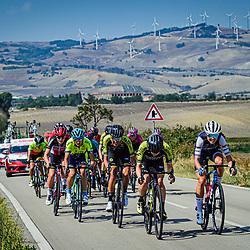 18-09-2020: Wielrennen: Giro Rosa: San Marco la Catola<br /> Moniek Tenniglo (Netherlands / Team Mitchelton Scott) in 3e positie
