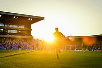 Football - 2021 / 2022 Papa Johns Trophy - Round One - AFC Wimbledon vs Portsmouth - Plough Lane - Tuesday 7th September 2021<br /> <br /> A general view of Plough Lane, home of AFC Wimbledon FC.<br /> <br /> COLORSPORT/Ashley Western