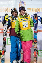 21.01.2011, St. Georgen/Murau, Kreischberg, AUT, FIS Freestyle Ski Worldcup, im Bild die beiden Sieger Xavier Bertoni (FRA) und Rosalind Groenewoud (CAN), EXPA Pictures © 2011, PhotoCredit: EXPA/ Erwin Scheriau