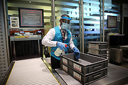 SOUTH AFRICA - Durban - 08 July 2020 - KZN Premier Sihle Zikalala and his cabinet inspect state of reaadiness of King Shaka International Airport before full resumption of flights on Wednesday, 08 July 2020. The KZN Economy has contracted by 30 billion and the tourism sector has been the hardest hit due to the lockdown regulations because of the Covid-19 pandemic.<br /> Picture: Motshwari Mofokeng/African News Agency (ANA)