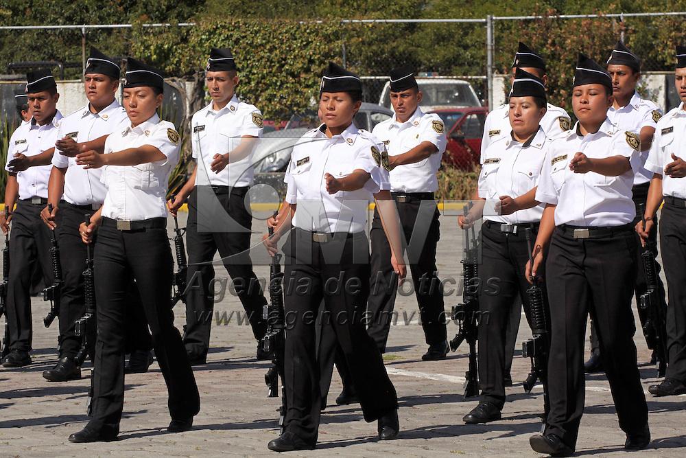 ALMOLOYA DE JUAREZ, México.-  La Agencia de Seguridad Estatal (ASE), realizo el concurso de tablas de tiempo perdido, que realizaron los cadetes de los diferentes centros de capacitación del Estado de México. Agencia MVT / José Hernández. (DIGITAL)