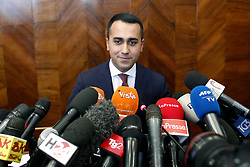 Italy, Rome - May 27, 2019.Press conference of the Vice-Premier Luigi Di Maio of Movement 5 Stars after the results of the European elections 2019. (Credit Image: © Zucchi/Insidefoto/Ropi via ZUMA Press)