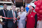 24/1/20 Opening of the French stands at the Holiday World Show at the RDS Simmonscourt in Dublin. Picture: Arthur Carron.