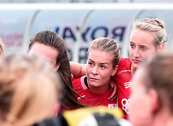 Goal scorer Lily Agg of Bristol City Women after drawing 1-1 against Liverpool Ladies - Mandatory by-line: Paul Knight/JMP - 20/05/2017 - FOOTBALL - Stoke Gifford Stadium - Bristol, England - Bristol City Women v Liverpool Ladies - FA Women's Super League Spring Series