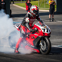Wayne Patterson (775) on his Ducati Competition Bike.