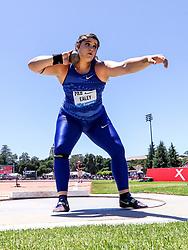 Chase Ealey, USA, womens shot put, 2019 The Prefontaine Classic Track & Field<br /> IAAF Diamond League