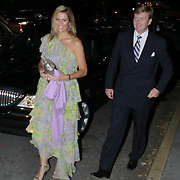 USA/New York/20090905 - Huwelijk Bernardo Guillermo en Eva Prinz -Valdez in New York in New York, kroonprins Willem - Alexander en prinses Maxima Zorrequieta