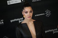 April 13, 2018 - Malaga, Spain - Spanish actress and model Ana Rujas poses on the photocall inside of the Cervantes Theatre during the opening of the 21th International Malaga Film Festival, in Malaga. (Credit Image: © Jesus Merida/SOPA Images via ZUMA Wire)