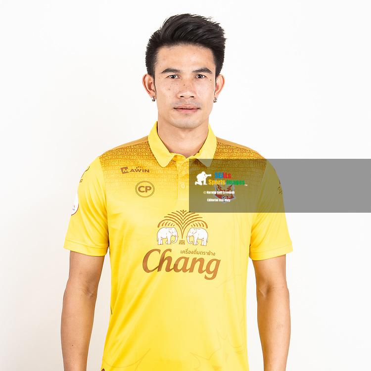 THAILAND - JUNE 29: Chompoo Sangpo #31 of Sukhothai FC on June 29, 2019.<br /> .<br /> .<br /> .<br /> (Photo by: Naratip Golf Srisupab/SEALs Sports Images/MB Media Solutions)