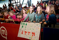 "Fans at event ""Slovenian Gymnastics stars"" after the European Championships in Milano, on April 6, 2009, in Hall Slovan, Kodeljevo, Ljubljana, Slovenia. (Photo by Vid Ponikvar / Sportida)"