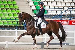 Hughes Gareth (GBR) - DV Stenkjers Nadonna<br /> Grand Prix Special<br /> WEG Test event dressage - Caen 2014<br /> © Hippo Foto - Dirk Caremans