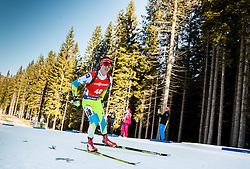 Miha Dovzan (SLO) during Men 12,5 km Pursuit at day 3 of IBU Biathlon World Cup 2015/16 Pokljuka, on December 19, 2015 in Rudno polje, Pokljuka, Slovenia. Photo by Vid Ponikvar / Sportida
