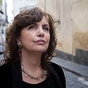 Naples, Italy, June 12, 2016. Patrizia Rinaldi, Italian writer.