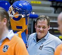 ROTTERDAM -  Groningen H3 tegen Union H3 tijdens het Landskampioenschap reserveteam zaal 2013. FOTO KOEN SUYK