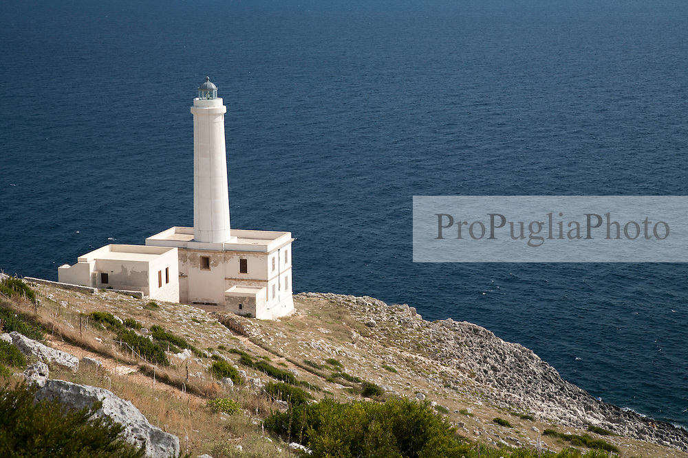 Faro di Punta Palascia a sud di Otranto, detto comunemente anche Capo d'Otranto è il punto piu orientale d'Italia.