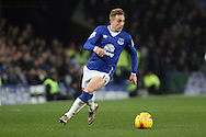 Gerard Deulofeu of Everton in action. Capital one cup semi final 1st leg match, Everton v Manchester city at Goodison Park in Liverpool on Wednesday 6th January 2016.<br /> pic by Chris Stading, Andrew Orchard sports photography.
