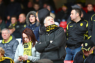 Burton Albion fans during the EFL Sky Bet Championship match between Nottingham Forest and Burton Albion at the City Ground, Nottingham, England on 21 October 2017. Photo by John Potts.