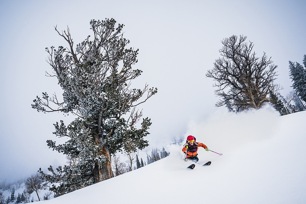 Dancing with the ancients, Caroline Gleich finds her rythm in the central Wasatch Mountains, Utah.