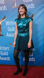 February 17, 2019 - Beverly Hills, California, U.S - Lauren Ciaravalli in the red carpet of the 2019 Writers Guild Awards at the Beverly Hilton Hotel on Sunday February 17, 2019 in Beverly Hills, California. JAVIER ROJAS/PI (Credit Image: © Prensa Internacional via ZUMA Wire)