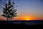 Sunset at Cottesloe Beach. Perth, Western Australia